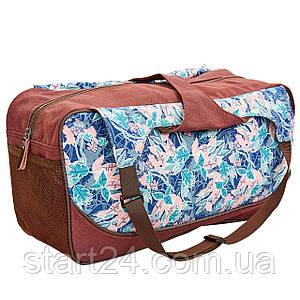 Сумка для фітнесу і йоги Yoga bag KINDFOLK FI-8366-2 (розмір 19смх50х33см, поліестер, бавовна,