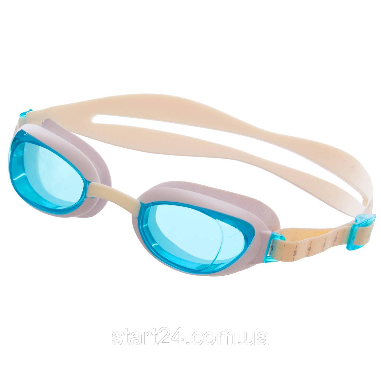 Окуляри для плавання SPEEDO AQUAPURE FEMALE 8090044284 (полікарбонат, термопластична резина, силікон,