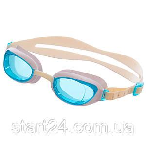 Очки для плавания SPEEDO AQUAPURE FEMALE 8090044284 (поликарбонат, термопластичная резина, силикон,