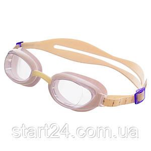 Очки для плавания SPEEDO AQUAPURE FEMALE 8090047237 (поликарбонат, термопластичная резина, силикон, белый)