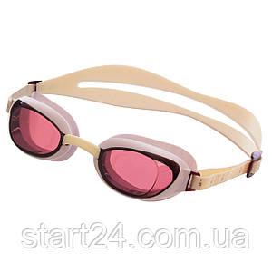 Очки для плавания SPEEDO AQUAPURE FEMALE 8090048914 (поликарбонат, термопластичная резина, силикон,