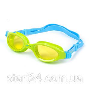 Очки для плавания детские SPEEDO FUTURA PLUS JUNIOR 809010B818 (поликарбонат, термопластичная резина, силикон,