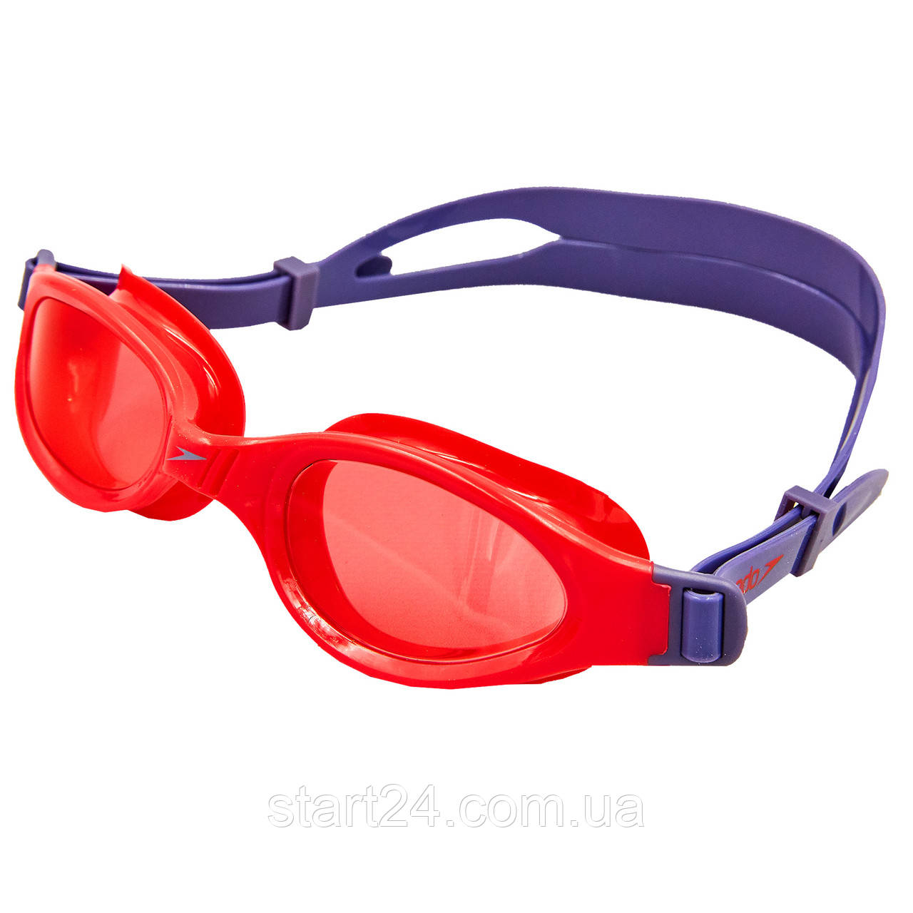 Окуляри для плавання дитячі SPEEDO FUTURA PLUS JUNIOR 809010B860 (полікарбонат, термопластична резина,
