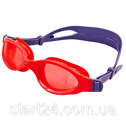 Окуляри для плавання дитячі SPEEDO FUTURA PLUS JUNIOR 809010B860 (полікарбонат, термопластична резина,, фото 2