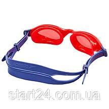 Очки для плавания детские SPEEDO FUTURA PLUS JUNIOR 809010B860 (поликарбонат, термопластичная резина, силикон,, фото 2