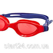 Очки для плавания детские SPEEDO FUTURA PLUS JUNIOR 809010B860 (поликарбонат, термопластичная резина, силикон,, фото 3