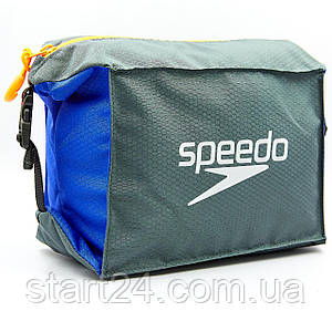 Сумка для басейну SPEEDO POOL SIDE BAG 809191C299 (поліестер, V-5л, сірий-синій)