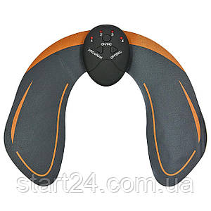 Миостимулятор для мышц ягодиц EMS Hips Trainer ZD-0323 (силикон, ABS-пластик, металл, р-р 25x20см, питание от