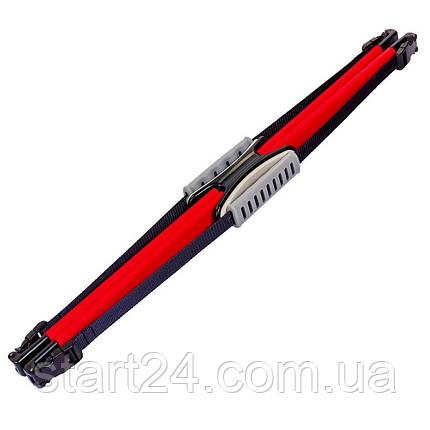 Еспандер багатофункціональний Pro Supra AERO BOW FI-890-4_5mm (пластик, PL h-4,5 мм, червоний), фото 2