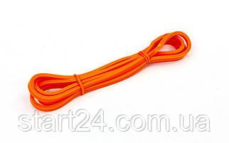 Резина для подтягиваний (лента силовая) FI-941-1 POWER BANDS (размер 2000x6,4x4,5мм, жесткость ХХXS,