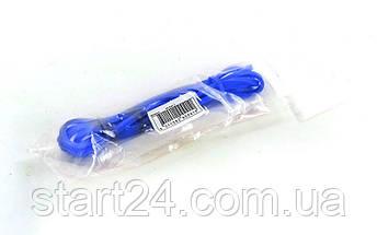 Гума для підтягувань (стрічка силова) FI-941-2 POWER BANDS (розмір 2000x13x4,5мм, жорсткість XXS, синій), фото 3