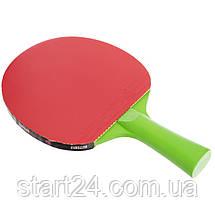 Ракетка для настільного тенісу 1 штука BUTTERFLY 85205 FREE YOUR LIFESTYLE (деревина, гума), фото 3