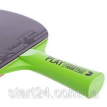 Ракетка для настільного тенісу 1 штука BUTTERFLY 85205 FREE YOUR LIFESTYLE (деревина, гума), фото 2