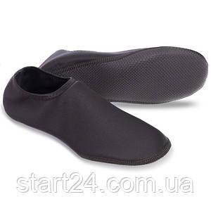 Обувь Skin Shoes для спорта и йоги PL-6870-BK размер XS-XL-30-43 длина стопы 19-28,5см черный