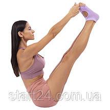Носки для йоги с открытыми пальцами SP-Planeta FL-6872 (полиэстер, хлопок, р-р 36-41, цвета в ассортименте), фото 3