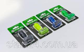 Свисток суддівський пластиковий FOX40-9513 WHISTLE MICRO SAFETY (на шнурі, кольори в асортименті)