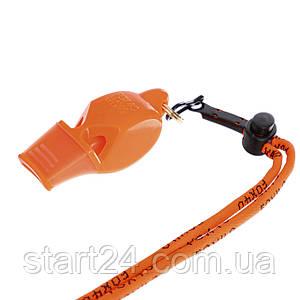 Свисток судейский пластиковый FOX40-9903  CLASSIC SAFETY WHISTLE (на шнуре, цвета в ассортименте)