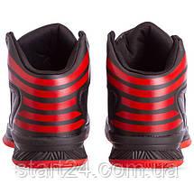 Кросівки баскетбольні Jordan 8603-2 розмір 41-45 чорний-червоний, фото 2
