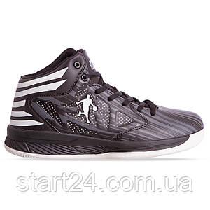 Кроссовки баскетбольные Jordan 8603-3 размер 41-45 черный-белый