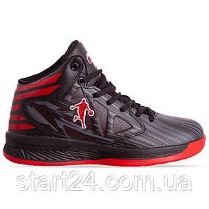 Кроссовки баскетбольные Jordan 8603W-2 размер 36-40 черный-красный