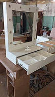 Дзеркало для макіяжу з ящиком-органайзером 950*700мм Модель V557