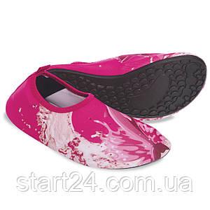 Обувь Skin Shoes детская Дельфин PL-6963-P размер M-2XL-28-35 длина стопы 17-21см розовый
