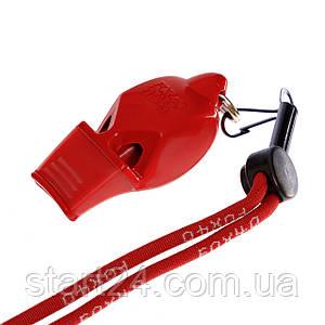 Свисток судейский пластиковый FOX40-ECLIPSE CMG (115dB, на шнуре, цвета в ассортименте)