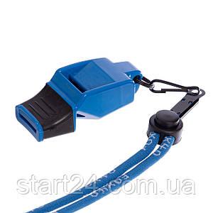 Свисток судейский пластиковый FOX40-FUZIUN CMG (118dB, на шнуре, цвета в ассортименте)