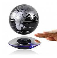 Левитирующий глобус 6 дюймов Levitating globe Silver  КОД: LPG6001S