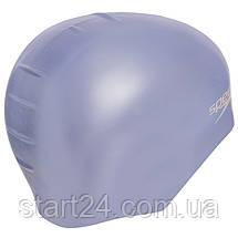 Шапочка для плавання SPEEDO PLAIN MOULDED 870984C816 (силікон, блакитний), фото 3