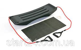 Платформа балансировочная 880 GO-GO BALANCE (пластик, р-р 105x31x18см,2 эспандера, коврик, DVDдиск,