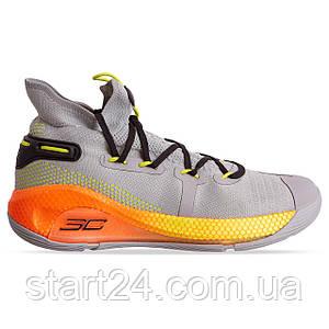 Кроссовки баскетбольные UAR 902G-3 размер 41-45 GREY/FLUORESCENT GREEN серый-оранжевый