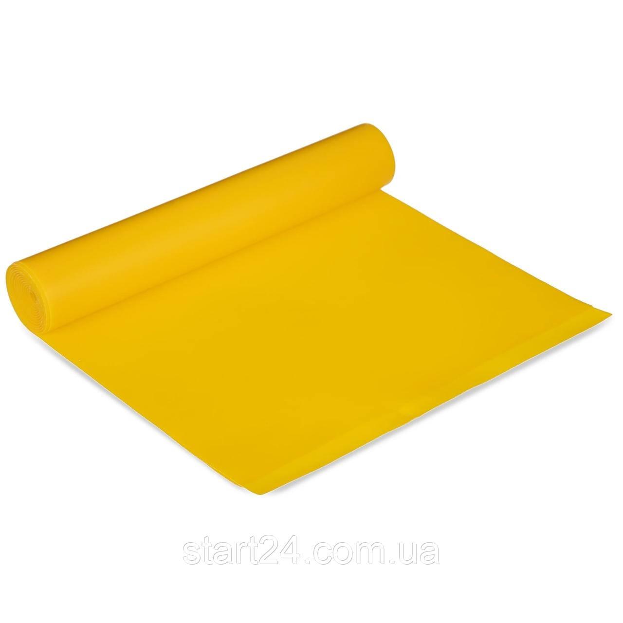 Лента эластичная для фитнеса и йоги CUBE (р-р 1,5мx15смx0,35мм) FRB-001-1_5 (латекс, цвета в ассортименте)
