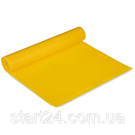 Лента эластичная для фитнеса и йоги CUBE (р-р 1,5мx15смx0,35мм) FRB-001-1_5 (латекс, цвета в ассортименте), фото 2