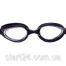 Окуляри для плавання з берушами в комплекті SAILTO G-2300 (полікарбонат, силікон, кольори в асортименті), фото 3