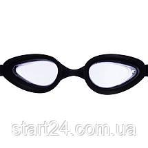 Окуляри для плавання з берушами в комплекті SAILTO G-2300 (полікарбонат, силікон, кольори в асортименті), фото 2