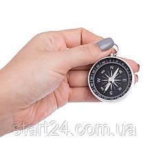 Компас магнитный G44-2 (d-44мм, металл, пластик), фото 3