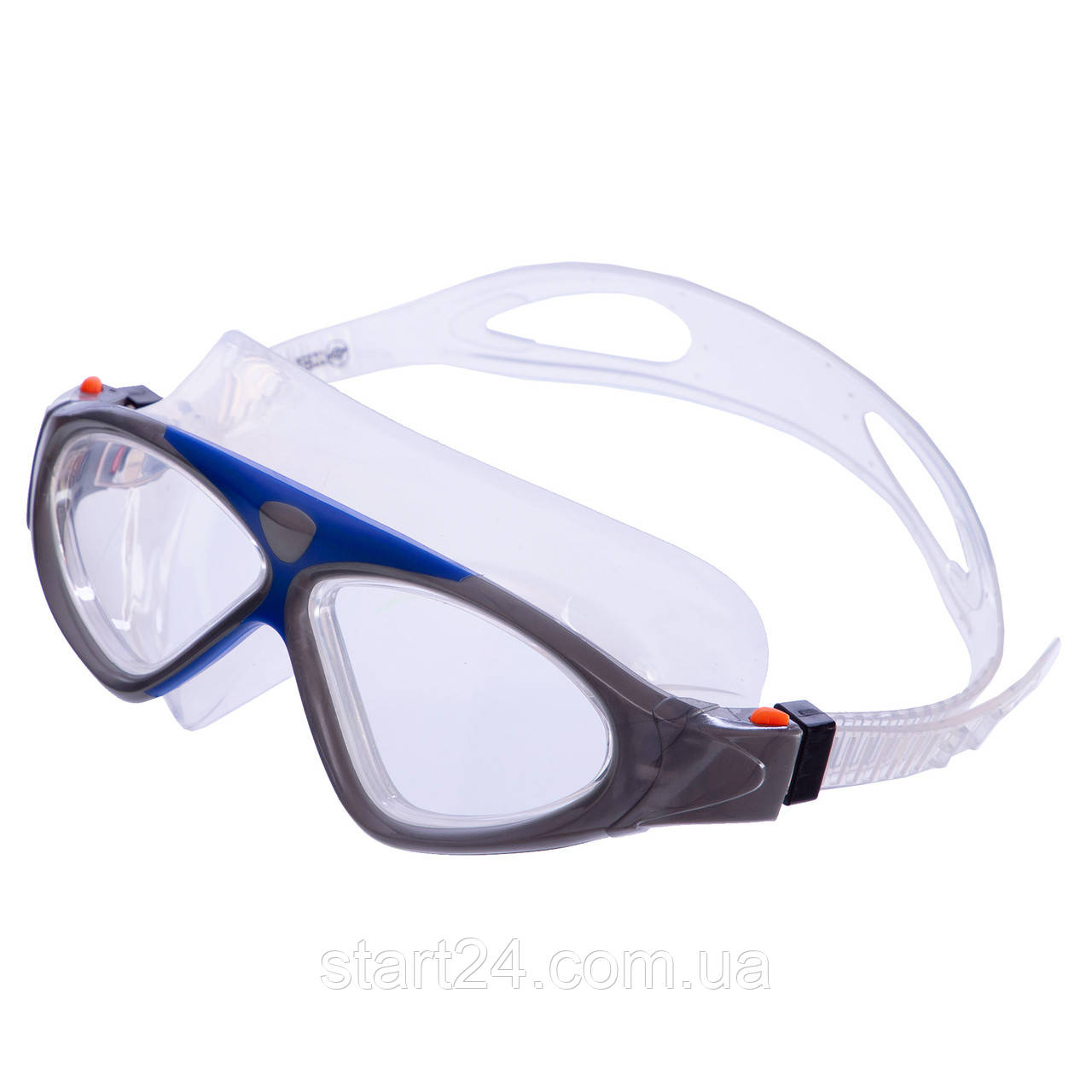 Окуляри-напівмаска для плавання GA1149 (полікарбонат, силікон, кольори в асортименті)