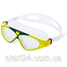 Окуляри-напівмаска для плавання GA1149 (полікарбонат, силікон, кольори в асортименті), фото 2