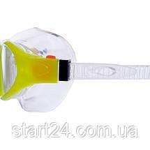 Окуляри-напівмаска для плавання GA1149 (полікарбонат, силікон, кольори в асортименті), фото 3