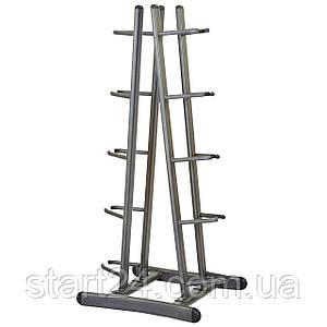 Подставка (стойка) для медболов на 10 мячей Zelart QJ2002C (металл, р-р 74х63х160см)уп. в 2 ящ.
