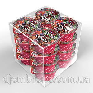 Соус ТМ Дніпро Барбекю BBQ 50г/16 шт. Порционная упаковка дип-пак. Соусы в маленькой упаковке.