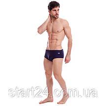 Плавки чоловічі ARENA STEEVE AR-16338-70 розмір 34-40-USA синій, фото 3