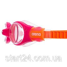 Окуляри для плавання дитячі з розсікачем ARENA FREESTYLE BREATHER KIT JUNIOR AR-1E053 (термопластична резина,, фото 2