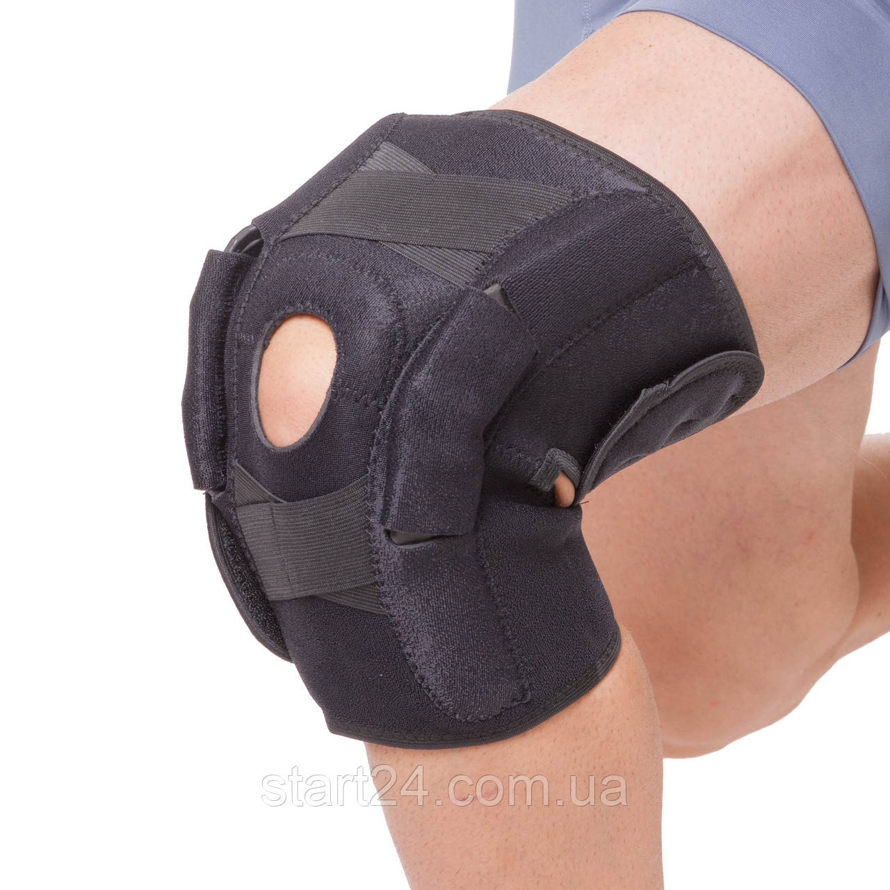 Наколенник-ортез коленного сустава открывающ. с шарниром (1шт) GS-1820 (р-р регул.)
