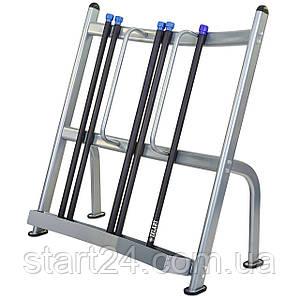 Подставка (стойка) для бодибаров Zelart RK5041B (металл, р-р 128х67х132cм)