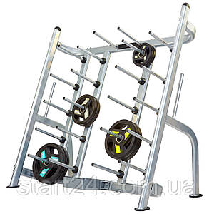 Подставка (стойка) для штанг фитнес памп Zelart RK5401C (металл, р-р 160х81х150cм)