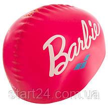 Шапочка для плавания детская ARENA BARRBIE FW11 AR-91672-91 (силикон, розовый), фото 3