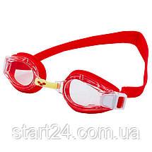 Очки для плавания детские ARENA MULTI JUNIOR 2 WORLD AR-92277-20 (поликарбонат, термопластичная резина,, фото 2