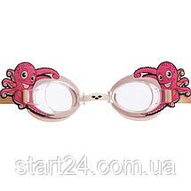 Очки для плавания детские ARENA BUBBLE WORLD AR-92339 (поликарбонат, термопластичная резина, силикон, цвета в, фото 3